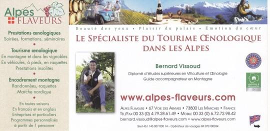 Spécialiste du Tourisme Oenologique dans les Alpes